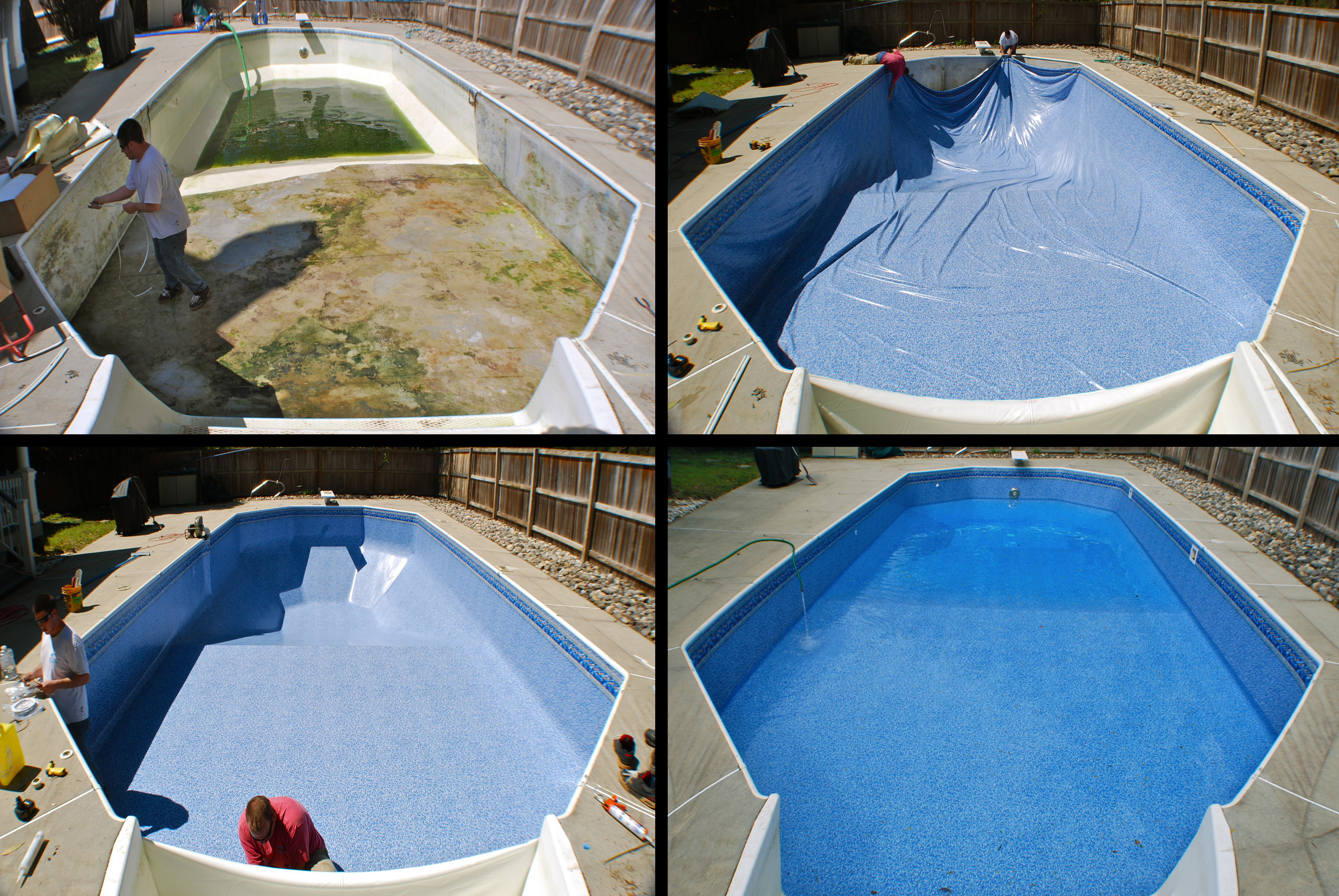 Vinyl Pool Liner Installation Virginia Beach Chesapeake